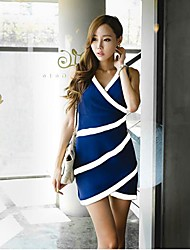 Women's Sexy Dress Mini Chiffon