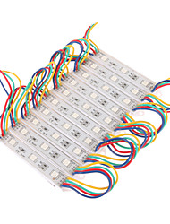 7W 30x5050SMD RGB LED Light Plastic Rectangle-Modul (DC 12V)