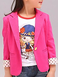 Girl's Cotton Blend Suit & Blazer , Spring/Fall Long Sleeve