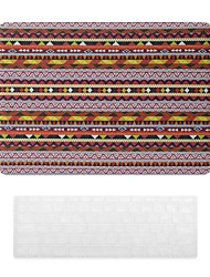 Bohemian Style PC Hard Case with Keyboard Cover Skin for MacBook Pro