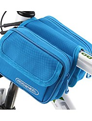 Bike Frame Bag / Cycle Bag Waterproof / Quick Dry / Dust Proof / Wearable Cycling/Bike PVC / 600D PolyesterYellow / Green / Red / Black /