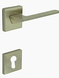 Brushed Nickel Alloy One Set Door Handle
