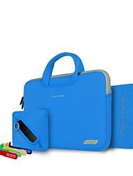 "cartinoe atmungs Leinwand Laptop-Tasche für 13,3 ""MacBook Air Pro mit Netztasche, Maus-Pad, Kabel dh t (verschiedene Farben)"