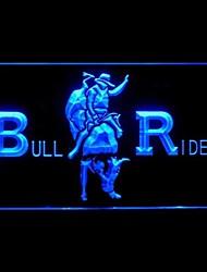 piloto cowboys touro de rodeio publicidade levou sinal de luz ,110-120v