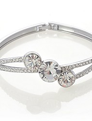 Glänzende Frauen Diamante Geometrische Armband