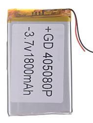 """Universal de reemplazo 3.7V 2200mAh de la batería del Li-polímero de 7 ~ 10 """"Macbook Samsung Acer Sony Tablet PC de Apple (4 * 50 * 80)"""