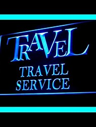 Travel Agency Service Advertising LED Light Sign