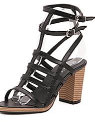 IPIEN Rough Heels Campagus Sandal (Black)