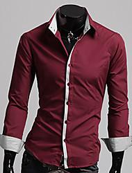 Z & S Moda nuevo estilo de la raya de la camisa