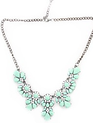 Canlyn Women's Flower Link Necklace