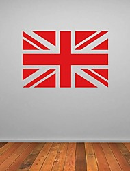 JiuBai™ UK Flag Wall Sticker Wall Decal