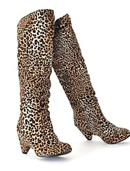 Suede Women's Kitten Heel Riding Boots Knee High Boots  (More Colors)