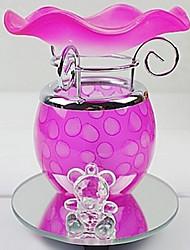 decoración de la lámpara patrón de puntos escritorio fragancia eléctrica