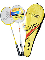 AOPI Ferroalloy 2 Pcs Integrated Badminton Racket