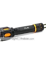 Eclairage Lampes Torches LED / Lampes de poche LED 1000 Lumens 5 Mode Cree XM-L T6 18650Faisceau Ajustable / Etanche / Rechargeable /