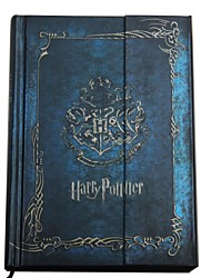Blue Magnet Front Cover  Harry Potter Pattern Colourful Diary Note Book