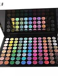 88 Palette di ombretti Secco Gamma di colori dell'ombretto Cipria Grande Trucco smokey / Trucco giornaliero / Trucco per feste