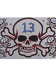 Motorcycle Stickers Big Skull Set of Picture