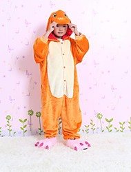 NEW cosplay Charmander Flannel Toilet version Children Kigurumi Pajama