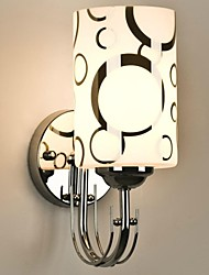 Mini Style Wall Sconces , Modern/Contemporary E26/E27 Glass Wall Lights