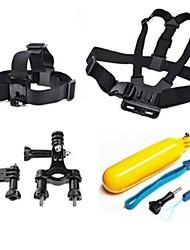GoPro-Zubehör Träger / Accessoires Kit Für Gopro Hero 2 / Gopro Hero 3 / Gopro Hero 3+ SchwimmendFilm und Musik / Ski / Jagd-und