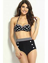 Dear-lover®Women's Classical Halter Bikini Swimwear