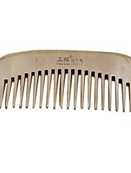 13cm de madeira Comb cabelo