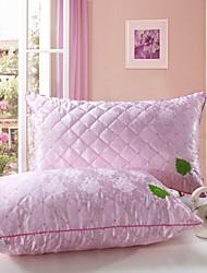 Shuian® Comforter Soft No Deformation Single Health Silk Pillow