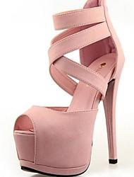 Women's Stiletto Heel Peep Toe Sandles Shoes (More Colors)
