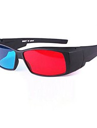 schil rode en blauwe 3D-bril 3D speciale computer stereo-bril bijziendheid bril drie d 3d film en televisie