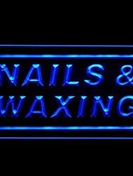Nail Waxing Advertising LED Light Sign