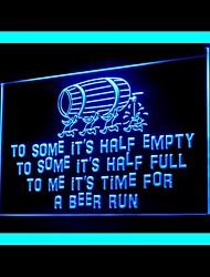 пивной бар выполнения реклама привело свет знак