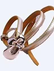 flor de la manera del metal de la correa fina de las mujeres