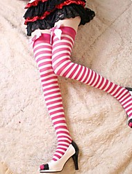 Socks/Stockings Sweet Lolita Lolita Princess Lolita Accessories Stockings Solid Bowknot For Nylon