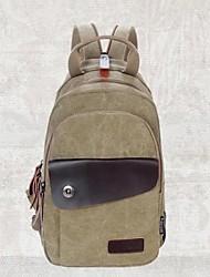 loisirs de mode de sac de toile de sac à dos multifonctionnel des hommes (couleurs assorties)