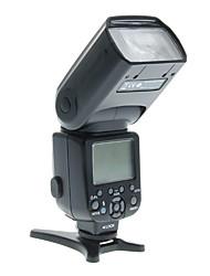 Triopo TR-982n Hochgeschwindigkeits-Synchronisation 1 / 8000s i-TTL Funkauslöser Blitz Speedlite für Nikon D800 D600 D7000 D5100