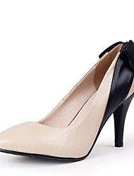 Pompes / Talons Chaussures à talons/Bout pointu - Talon aiguille - Simili Cuir - pour FEMMES