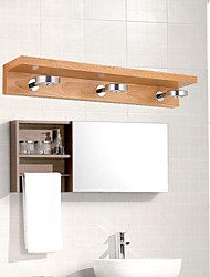LED Bathroom Lighting , Modern/Contemporary LED Integrated Wood/Bamboo