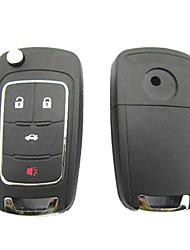 4-кнопочным пультом дистанционного Флип ключ чехол для Buick Regal