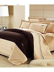 Shuian® Duvet Cover Set,4 Piece Suit Activity Combed Cotton Comfort Simple Modern Beds