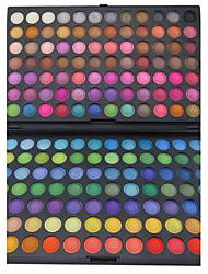168 Paleta de Sombras de Ojos Mate / Brillo Paleta de sombra de ojos Polvo Grande Maquillaje de Fiesta