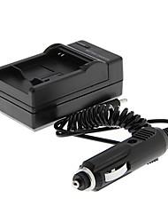 cargador de coche + cargador de batería para samsung BP70A (100v de entrada / 240v, 4.2v salida / 600ma)