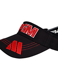 PGM Black+Red Sunproof Golf Hat With No Cover