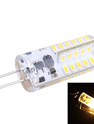 G4 2.5W 150LM 3200K 48x3014 Warm White LED Light Bulb(DC 12V)