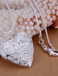 vilin vrouwen zilveren hart hanger