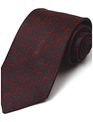 Black&Red Silk Tie
