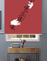 joie abstraite de jouer de la guitare store à enroulement