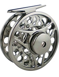 Aluminum Alloy Machine Cut Fly Fishing Reel 7/8 Large Arbor Spool Width 95mm  3BB