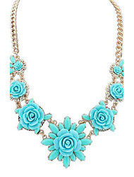 European Style Fresh Flowers and Sweet Necklace(More Colors)