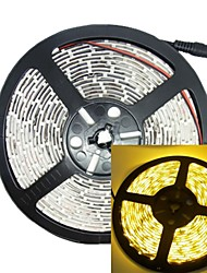 5M 30W 300LED 3528SMD 635-700nm DC12V IP68 Waterproof Strip Light Yellow